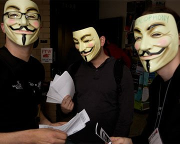 Anonymous атакуют